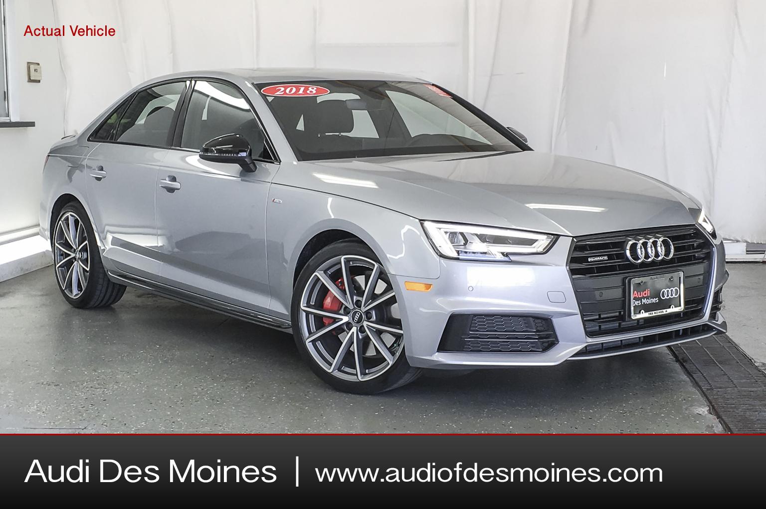 Pre-Owned 2018 Audi A4 2.0t Quattro 2.0 Tfsi Premium Plus S Tronic Quattro Awd