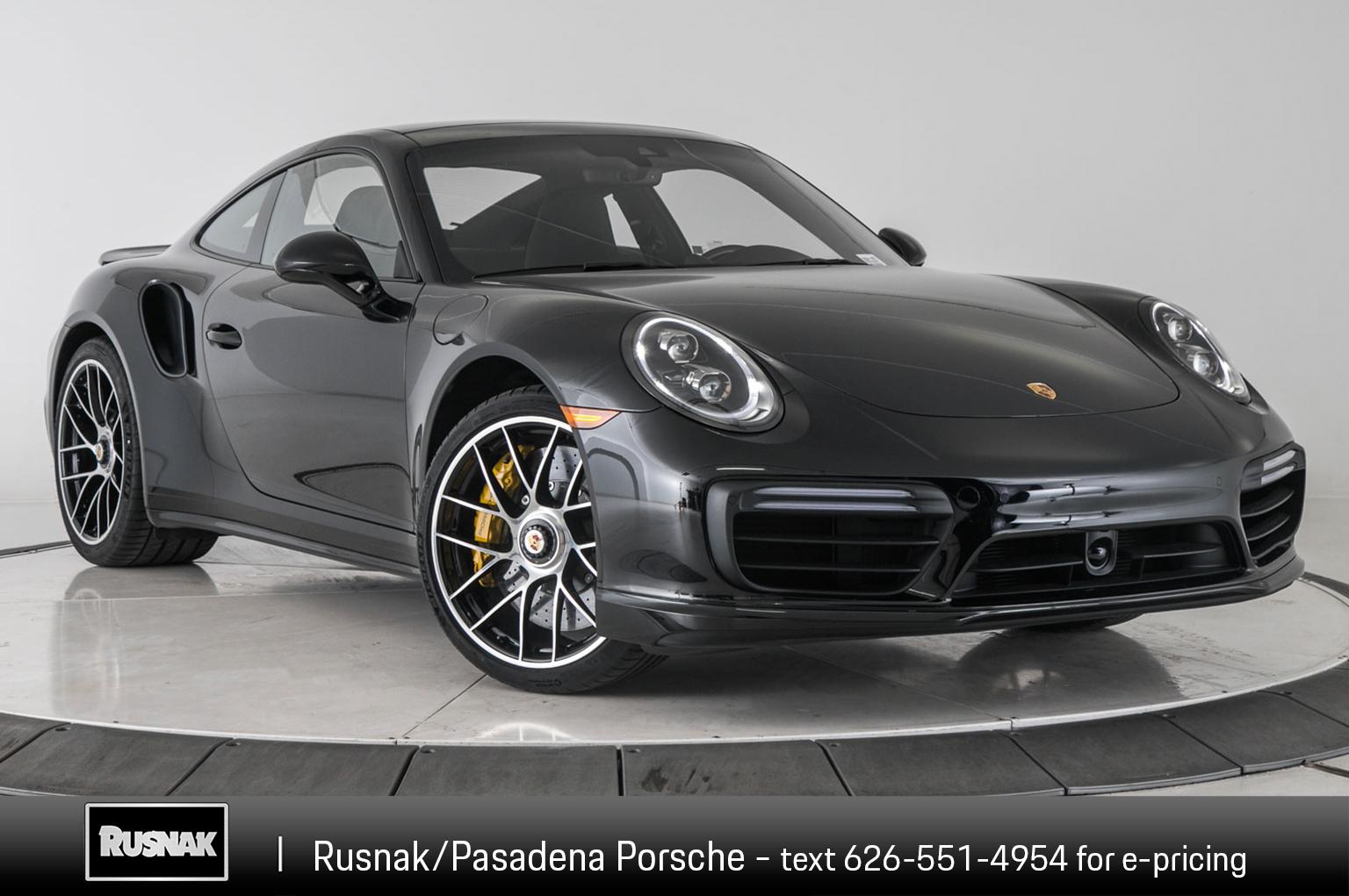 New 2019 Porsche 911 Turbo S