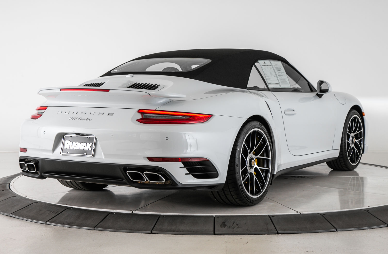 Certified Pre-Owned 2018 Porsche 911 Turbo Cabriolet