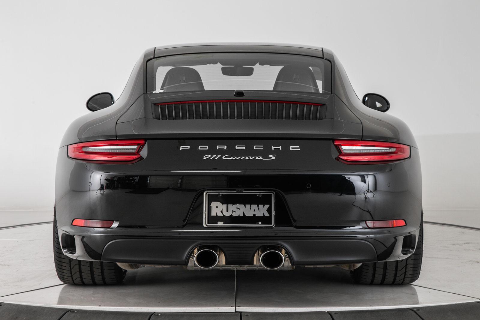 New 2019 Porsche 911 Carrera S